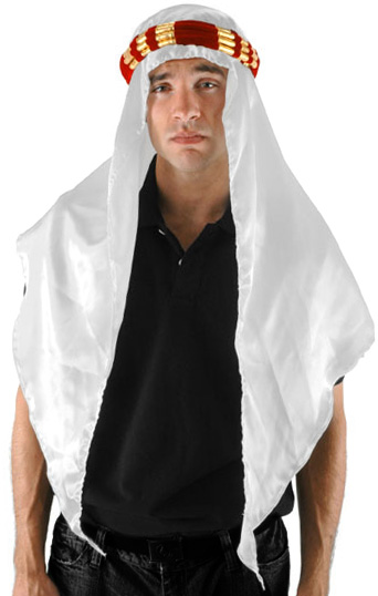 Adult Arab Sheik Head Veil