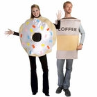 Coffee and Donut Costumes