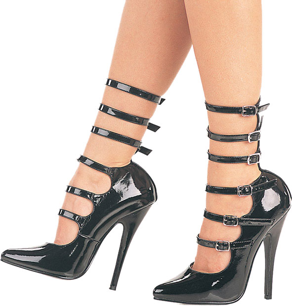 "Crossdresser Glamour Pumps with 6"" Heel"
