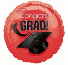 Apple Red Graduation 18 Inch Balloon