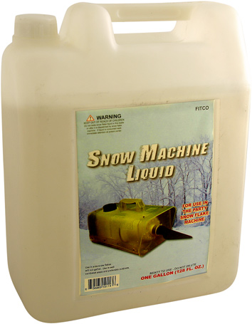 Snow Machine Refill Gallon