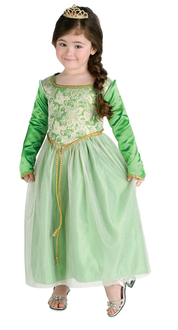 Toddler Princess Fiona Costume Dress