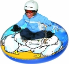 "Yeti Uncle Bob's 48"" Round Inflatable Snow Tube"