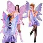 Purple Costume Wings