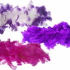 Purple Feather Boas