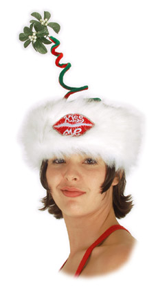 Adult Mistletoe Hat