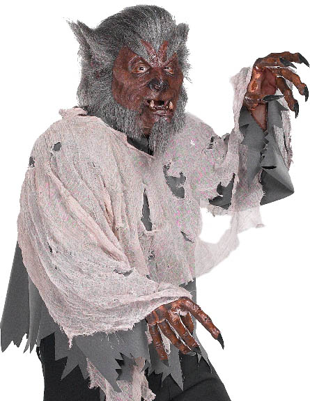 Easy Werewolf Costume