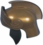 Simple Gold Roman Helmet