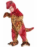 Toddler Plush Raptor Costume