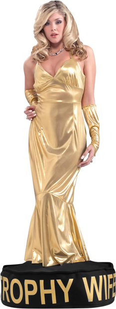 Adult Trophy Wife Costume