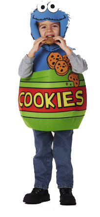 Child's Cookie Monster Costume