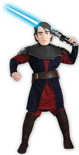Clone Wars Deluxe Anakin Skywalker Costume