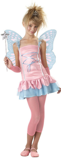 Preteen Fairy Butterfly Costume