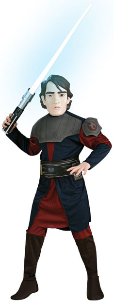 Child's Clone Wars Anakin Skywalker Costume