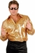 Gold Glitter Disco Shirt