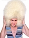 Super Large Size Blonde Afro Wig