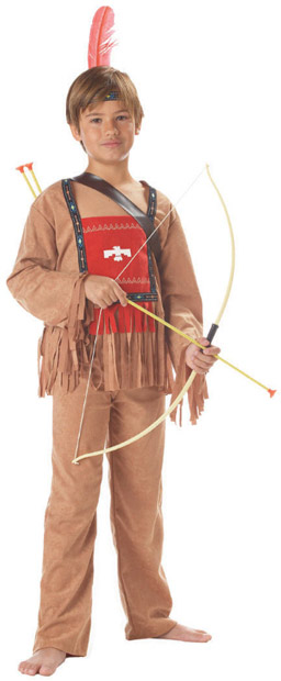 Child's Running Bull Indian Costume