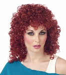 Women's Auburn Curly Sue Wig