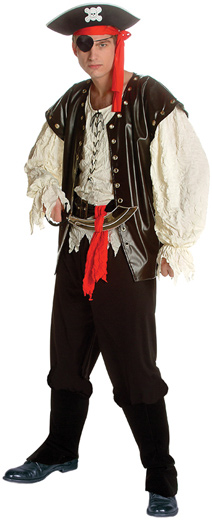 Adult Pirate King Costume