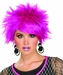 Woman's 80s Style Purple Pixie Wig