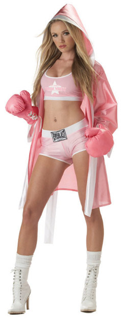 Sexy Everlast Boxer Girl Costume