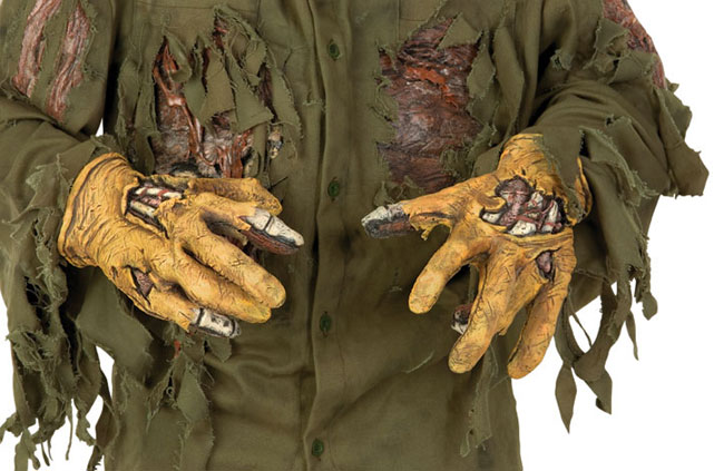 Adult Friday the 13th Jason Costume Gloves