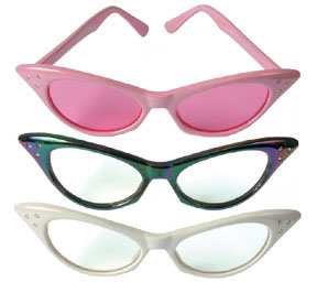 50's Girl Glasses