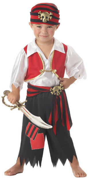 Toddler Boy Pirate Costume