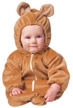 Baby Brown Honey Bear Costume