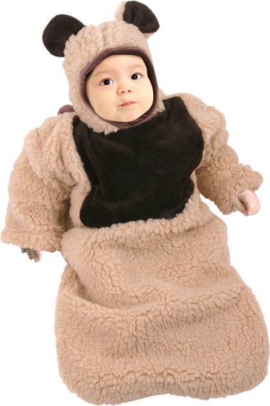 Baby Oatmeal Bear Bunting Costume