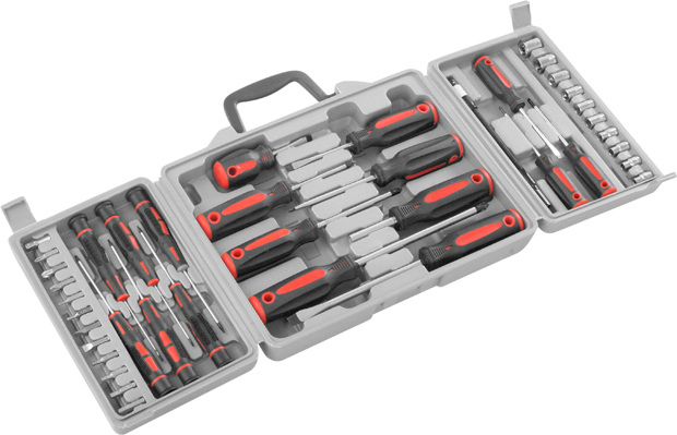 40 PC Screwdriver Nutdriver Set
