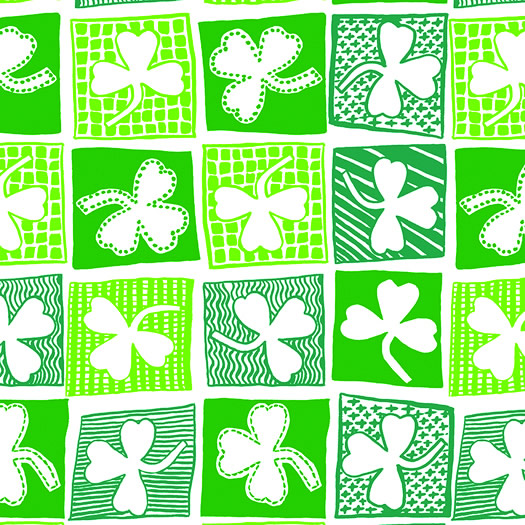 Shamrock Patch Bandanas
