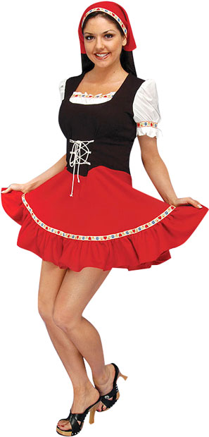 Women's Heidi Theater Costume