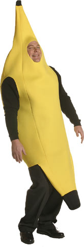 Adult Plus Size Banana Costume