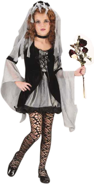 Child's Sweetie Wicked Bride Costume