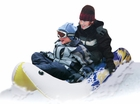 Thunder Jet Inflatable Snow Sled