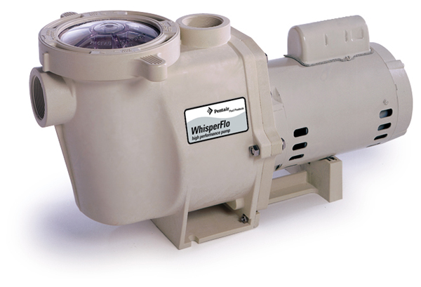 Pentair WhisperFlo Pump 2-Speed 1HP