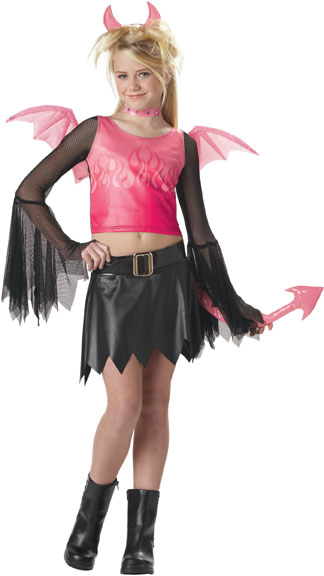 Preteen Hot Devil Costume