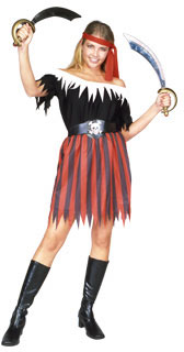 Adult Classic Pirate Lady Costume