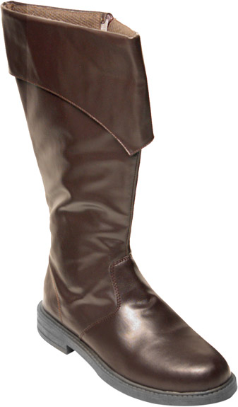 Men's Deluxe Brown Pirate Boots