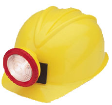 Miner's Costume Hard-Hat