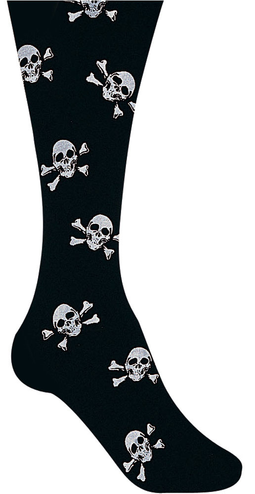 Child's Pirate Skull Costume Tights