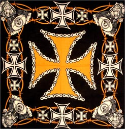 Iron Cross & Motor Biker Bandanas
