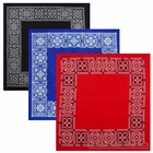 Open Center Paisley Bandanas
