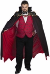Adult Plus Size Vampire Costume