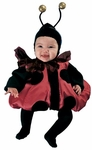 Baby Fluffy Lady Bug Costume