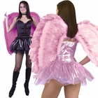 Adult Pink Angel Wings
