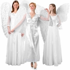 Adult White Angel Wings