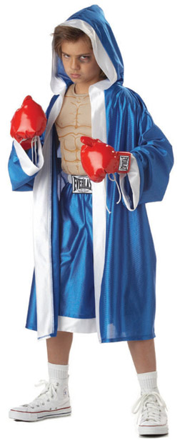 Child's Deluxe Everlast Boxer Costume