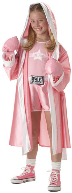 Child's Everlast Boxer Girl Costume